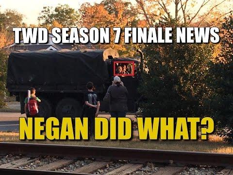 The Walking Dead Season 7 Episode 16 Spoiler News Chanting & Cheering In Alexandria Negan Did What
