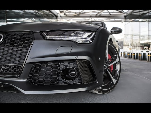 2017 605hp Audi RS7 Performance - The details of the beast (Daytona matte gray)