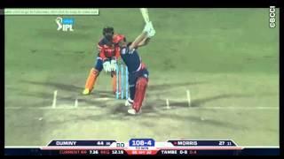 Chris Morris 82 of 32 balls vs Gujarat lions