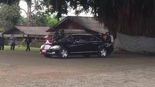 Kunjungan Presiden Jokowi Di Margarana. Tabanan. Bali