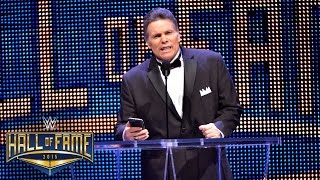 lanny poffo inducts his brother macho man randy savage into the wwe hall of fame march 28 2015