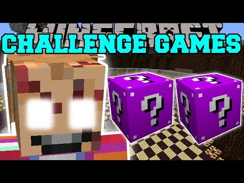Minecraft: CHUCKY CHALLENGE GAMES - Lucky Block Mod - Modded Mini-Game