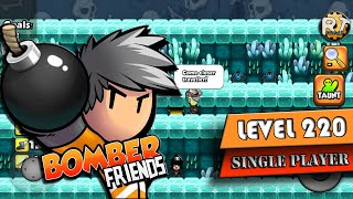 Bomber Friends - Single Player Level 220 [boss] [Last Level]