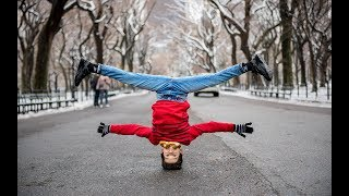 BONUS 10 MINUTE PHOTO CHALLENGE IN SNOWY CENTRAL PARK (So You Think You Can Dance Star)