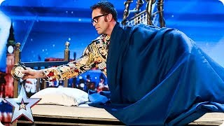 Prepare to be SPELLBOUND by Magus Utopia   Auditions   BGT 2018