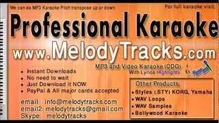 Aakash prodeep jwale - Lata Bangla KarAoke - www.MelodyTracks.com
