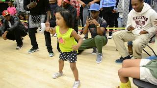 Baby Girl is TOO on! She tore it up!  *IT'S A MUST WATCH* l Tommy The Clown l OfficialTSquadTV