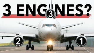 Three Engined Aircraft, what happened?