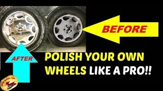 AMAZING Wheel/Rim Polishing Method
