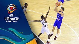 Angola v Italy - Live - FIBA U19 Basketball World Cup 2017