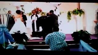 Wedding Praise Break Ministers Derrick and Jaz'men Vines 9/11/2010