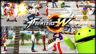 KING OF FIGHTERS WORLD -  EPICO JUEGO ONLINE QUE VENDRA PRONTO A iOS y Android