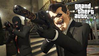 BIGGEST BANK ROBBERY!!  (GTA 5 Online Heists)