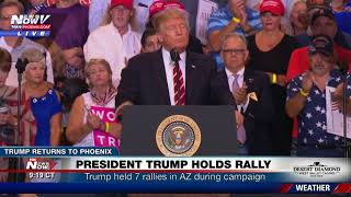 FULL SPEECH - PHOENIX RALLY: Trump Defends Charlottesville Remarks, Bashes Media, Talks Arpaio (FNN)