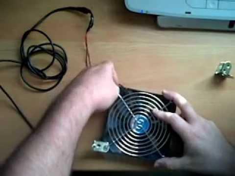 Como fabricar un ventilador conectado al usb