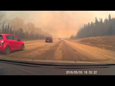 escaping fort mcmurray