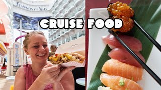 SYMPHONY OF THE SEAS Restaurants Tour! - Dining Aboard The Largest Cruise Ship In The World