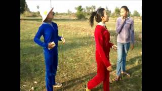 Cambodia Video Clip 2015 | Finding Angkrorng(insect) at the Field