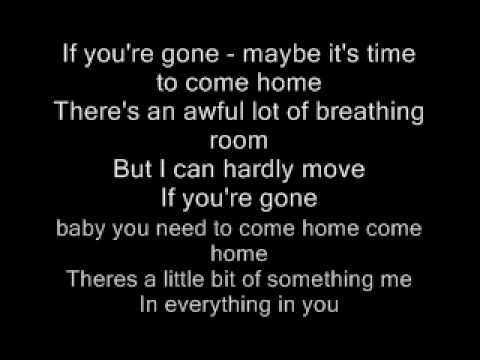 If you re gone matchbox 20