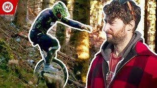 Scott Rogowsky Shows You Weird Sports   Mountain Unicycling