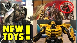 New? Transformers: The Last Knight TOYS! - Shadow Spark Optimus & Leader Class Bumblebee?