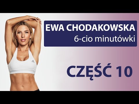 Trening brazylijskie pośladki cz. 2 Total 6 min cześć 10 Ewa Chodakowska