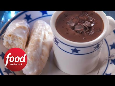 Xxx Mp4 How To Make Nancy's Homemade Doughnut Sticks And Hot Cocoa Food Network 3gp Sex