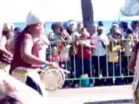 2008 Carnival Parade in Santo Domingo Los Alibaba Drummers