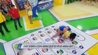 Lívia Andrade e As Gostosas do Arena SBT 06 07 2014