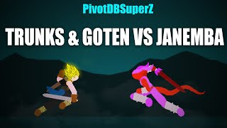 PivotDBSuperZ - Trunks & Goten VS Janemba