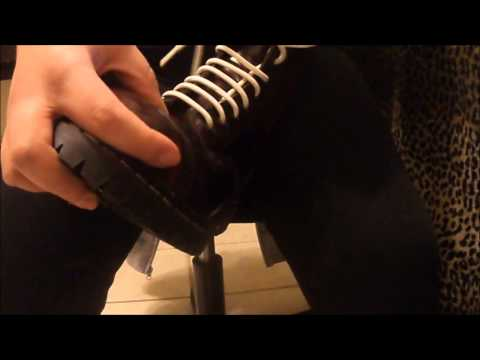 How To Straight Lace Bar Your Boots 2 Ways Duration 4 52 Min