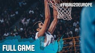 Greece v Spain - Full Game - Semi-Finals - FIBA U20 European Championship 2017