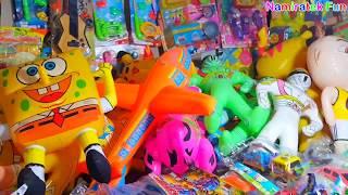 belanja mainan anak balon balon boneka lucu lucu beli mainan murah dengan abang penjual mainan