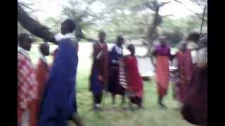 Tanzanie danse Masai