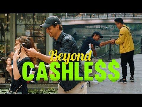 CHINA IS BEYOND CASHLESS