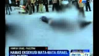 Pejuang Hamas Eksekusi Mata-mata Israel