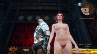 The Witcher 3 nude Triss mod