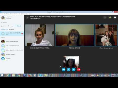 Xxx Mp4 Clases A Través De Skype Parte 2 Utilización De Una Llamada Para Dar Una Clase Virtual 3gp Sex