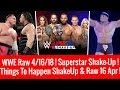 Download Video WWE Raw 4/16/2018 Highlights Updates Superstar Shake-up 2018 Raw 16 April 2018 3GP MP4 FLV