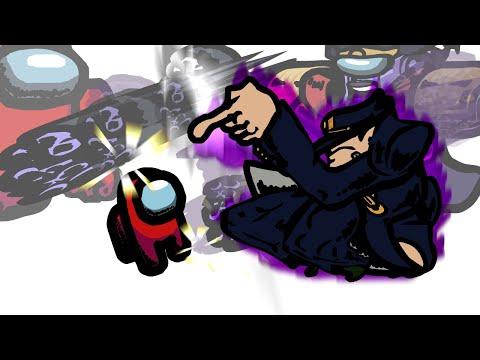 Mini Crewmate Kills JoJo s Characters Part 1 Among Us
