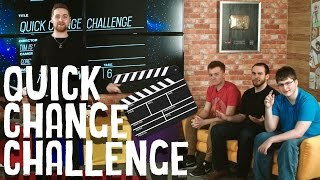 QUICK CHANGE CHALLENGE! - MAX, ROSS, RED AND BARNEY TRY TO IMPROV