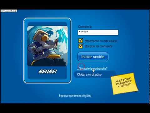 Club Penguin contraseña del sensei en Atlantic Penguin Enero 2016