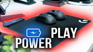 Wireless CHARGING for Gaming Mice? -- Logitech G PowerPlay Review