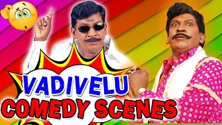 Vadivellu Best Comedy Scenes | South Indian Hindi Dubbed Best Comedy Scenes