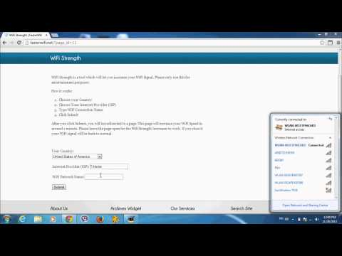 How To Boost Your WiFi Signal - Incrase Your Wireless Speed Easily [HD]