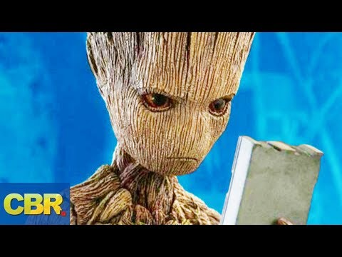 What Nobody Realized About Groot From Marvel s Infinity War And Guardians Of The Galaxy
