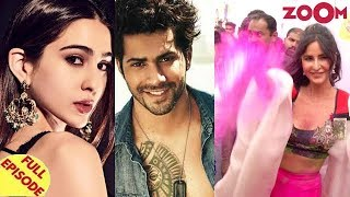 Sara to star opposite Varun in Coolie No 1 remake | Bollywood Stars at Zoom Holi Fest & more