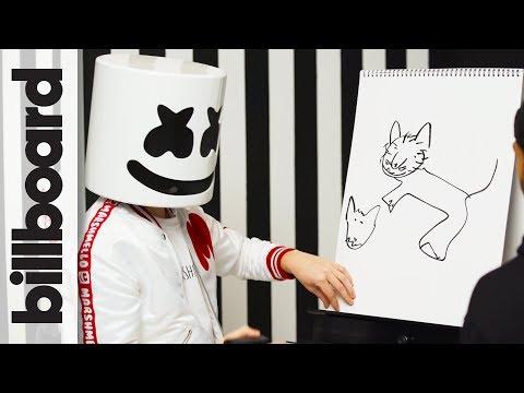 Marshmello & Moe Shalizi Play Pictionary Billboard
