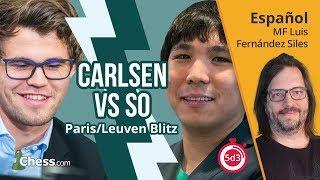Wesley So vs Magnus Carlsen | Ajedrez Comentado | Grand Chess Tour 2017