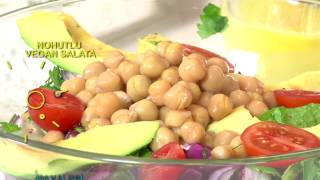 Nohutlu Vegan Salata